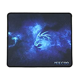 Jeecoo Mouse Pad 320x270x3mm Non-slip Rubber Base Gaming Mouse Mat
