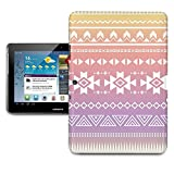 Aztec Tribal Ombre Tablet Hard Shell Case for iPad, Kindle, Samsung Galaxy, Nexus & more - Samsung Galaxy Tab 2 10.1in P5100