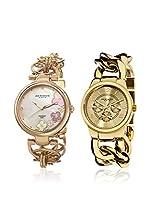 Akribos XXIV Set de 2 relojes AK677YG