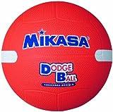 ミカサ 教育用白線入ドッジボール1号 オレンジ 小学校用 D1W O