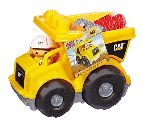 Mega Bloks Caterpillar Lil' Dump Truck (Caterpillar Toy Trucks compare prices)