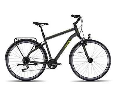 Ghost Square Trekking 3 Trekking bike Gentlemen green/black 2017 Trekking bike
