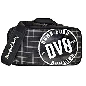 DV8 Double Tote Bowling Bag- Holds Shoes