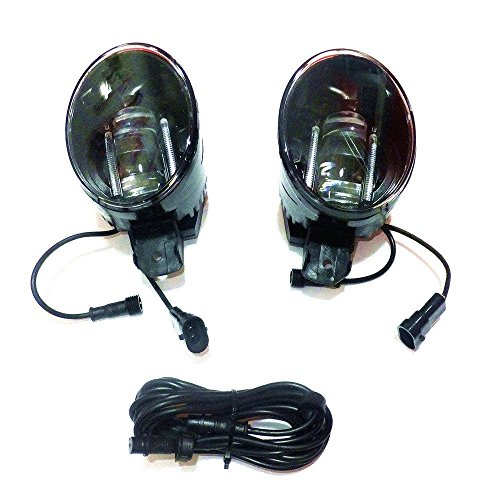 July King LED Day Running Lights DRL Q5 Lens 6000K 1000LM 15W LED Fog Lamps Assembly for Nissan Versa 2012-ON and Platina 2001-2010 (Nissan Platina Parts compare prices)