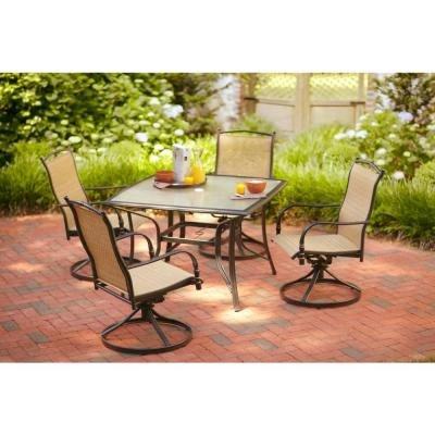 Perfect Buy Hampton Bay Altamira Diamond Piece Patio Furniture Dining Set Seats