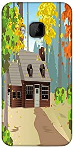 Snoogg Autumn Home Designer Protective Back Case Cover For Htc One M9