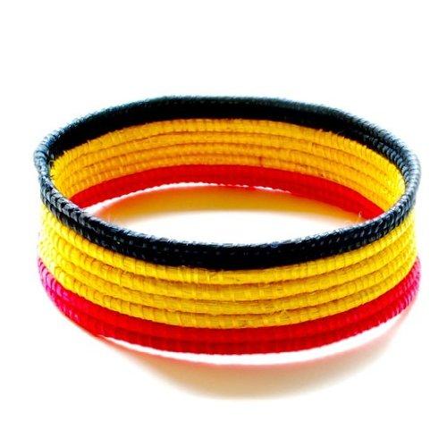 Nicole Miller Woven Bracelet (NM15) - Rwanda