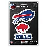 NFL Buffalo Bills Team Decal, 3-Pack