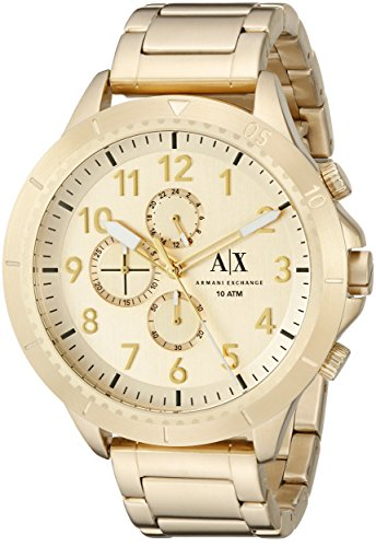 Armani-Exchange-Mens-AX1752-Analog-Display-Analog-Quartz-Gold-Watch