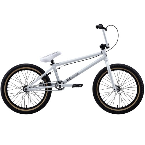 Eastern Bikes Traildigger 2013 Edition BMX Bike (Gloss White/Black Rim, 20-Inch)