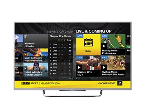 Sony KDL32W706BSU 32-inch Widescreen Full HD 1080p Smart TV with Freeview - Silver