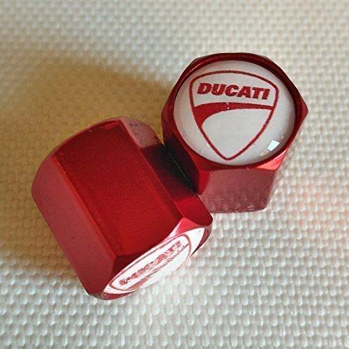 ducati-white-top-red-wheel-valve-dust-caps-from-us-only-diavel-hyermotard-monster-multistrada-superb