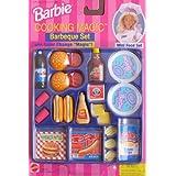 "Barbie COOKING MAGIC BARBEQUE Set - BARBECUE Mini Food Set w COLOR CHANGE ""MAGIC""! (1997 Arcotoys, Mattel) at Sears.com"