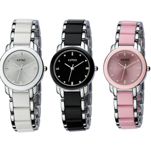 Central World EYKI KIMIO Women Ladies Dress Stainless Steel Luxury Bracelet Watches by Central World Watch
