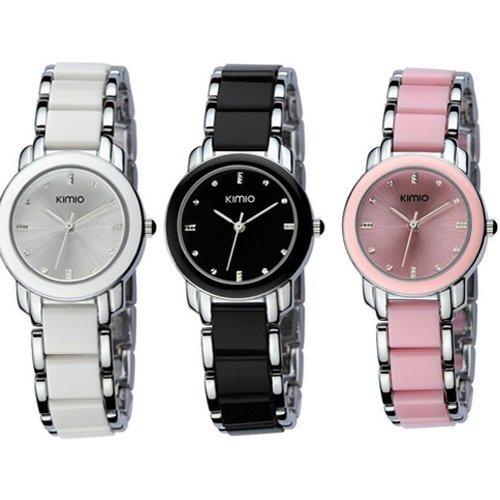 Central World EYKI KIMIO Women Ladies Dress Stainless Steel Luxury Bracelet Watches by Central World Watch