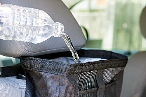 auto litter bag car trash bag organizer by konsait car garbage bag keep your car tidy. Black Bedroom Furniture Sets. Home Design Ideas