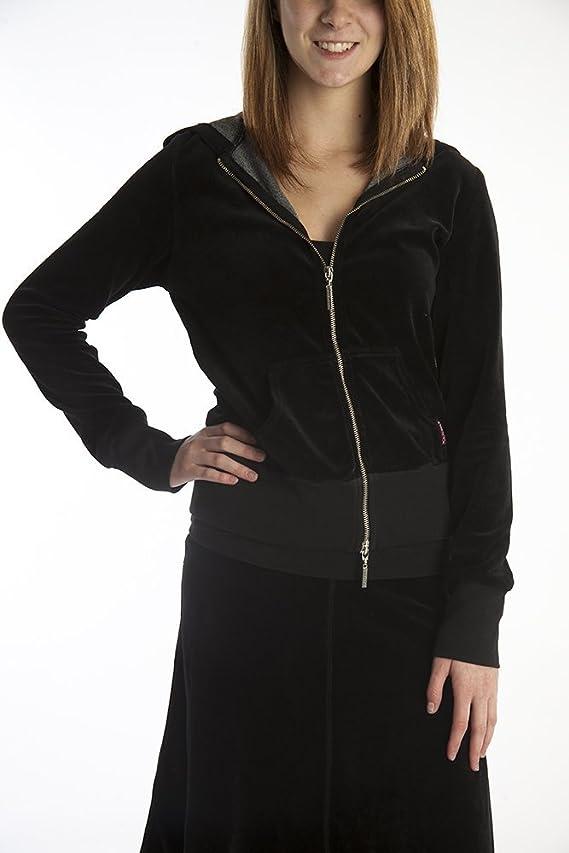 Hard Tail velour hoodie