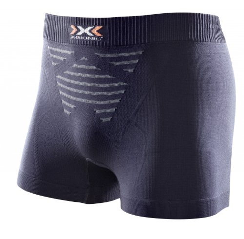 X-Bionic Man Invent Light Uw Boxer Intimo Tecnico Multisport, Uomo, Nero (Black/Anthracite), M