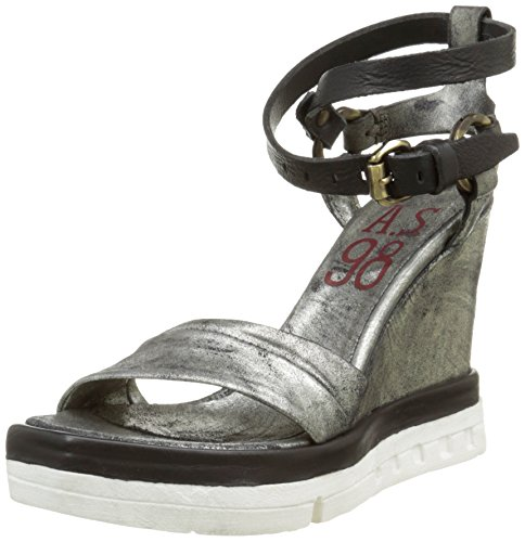 AirstepFolk - Sandali alla caviglia Donna , Bianco (Blanc (Bianco)), 39