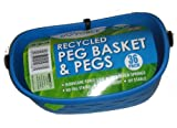 Eco Force Recycled Peg Basket and 36 Pegs