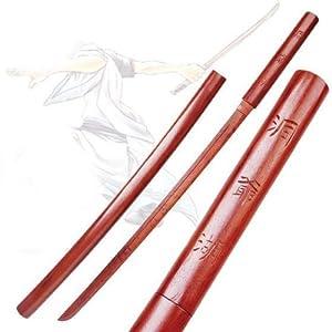 Bokken Wooden Practice Sword with Scabbard(#WSD072)