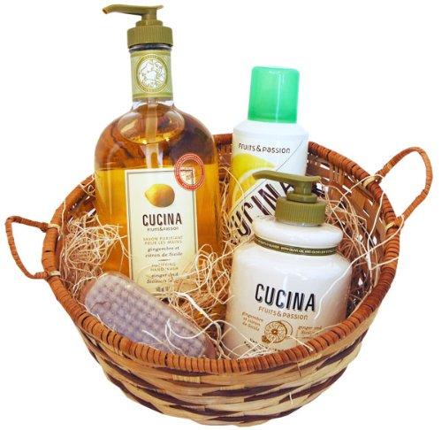 CUCINA Collection Gift Basket - Ginger & Sicilian Lemon