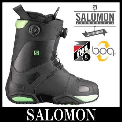 13-14 SALOMON Salomon SYNAPSE FOCUS BOA noir mens Bottes snowboard 27,0
