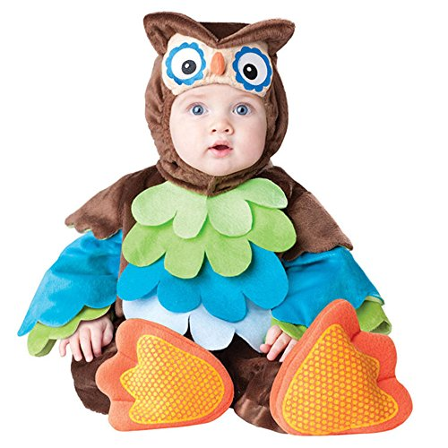 Baby's Owl Costume Boys Girls Clothes Sets Warm Toddler Rompers Dress (X Large(24-30 Months)) (Woody Halloween Costume 2t)
