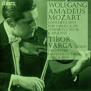 Mozart : Mozart-Tibor Varga Vol.2