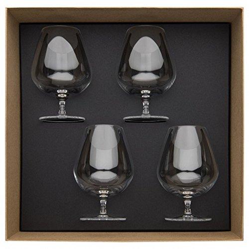 Guy Degrenne 206400 Coffret de 4 Verres Cognac 61 cl