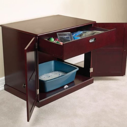 Covered Cat Litter Box Furniture What Is The Best Cat Food