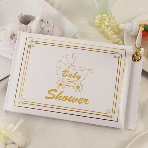 Baby Shower Guest Book Party Supplies New Gift front-60839