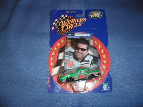 2000 NASCAR Winner's Circle . . . Bobby Labonte #18 Interstate Batteries Pontiac Grand Prix . . . Includes Collector's Card