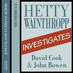 Hetty Wainthropp Investigates Audiobook