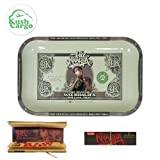 "Wiz Khalifa Rolling 7""x11"" Tray + Wiz Khalifa Limited Edition Rolling Papers + Kc Sticker"