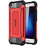 Mi 5 Case Cubix Rugged Armor Case For Mi 5 (Red)