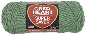 Red Heart E300.0631 Super Saver Economy Yarn, Light Sage