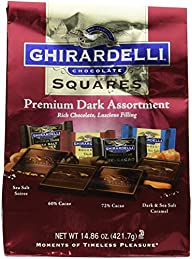 Ghirardelli Dark Assorted Sqaures XL…