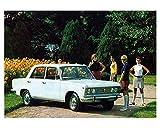 1968 Fiat Polski 125P Automobile Photo Poster