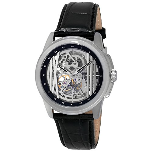 kenneth-cole-herrenuhr-automatic-analog-schwarz-silber-transparent-kc8100