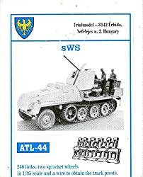 Friulmodel Atl44 1/35 Metal Track W/Drive Sprockets For S Ws Schwere Schlepper