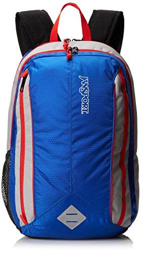 JanSport Spark Backpack - Blue Streak/High Risk Red / 18.5