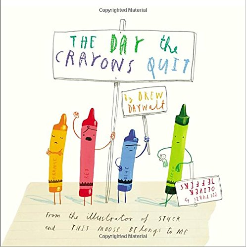 The Day the Crayons Quit (Drawing Books On Letters compare prices)