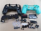 Replacement Repair Matt Housing Shell+Buttons+Pad Case Part for PS4 PS 4 Controller DualShock4 4 Color Green