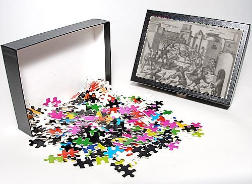 Photo Jigsaw Puzzle of Pizarro Occupies Cuzco from Mary Evans