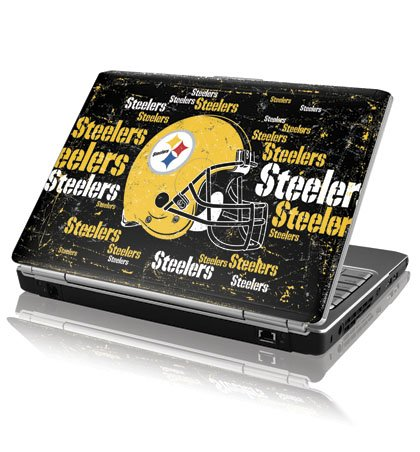 NFL - Pittsburgh Steelers - Pittsburgh Steelers - Blast Dark - Dell Inspiron 15R / N5010, M501R - Skinit Skin