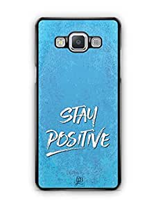 YuBingo Stay Positive Designer Mobile Case Back Cover for Samsung Galaxy A5
