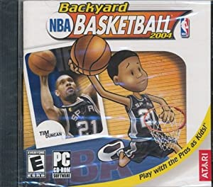 NBA Backyard Basketball 2004 PC CD-ROM