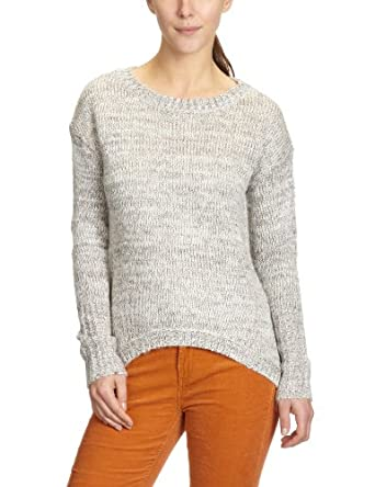 ONLY Damen Pullover 15068578/PETRA BOXY PULLOVER KNT, Gr. 36 (S), Elfenbein (ANTIQUE WHITE Detail:Colorful Lurex)