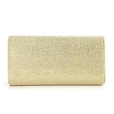 Clorislove Evening Party Small Clutch Bag Bridal Purse Handbag Cross Body Tote (Gold) - more-bags